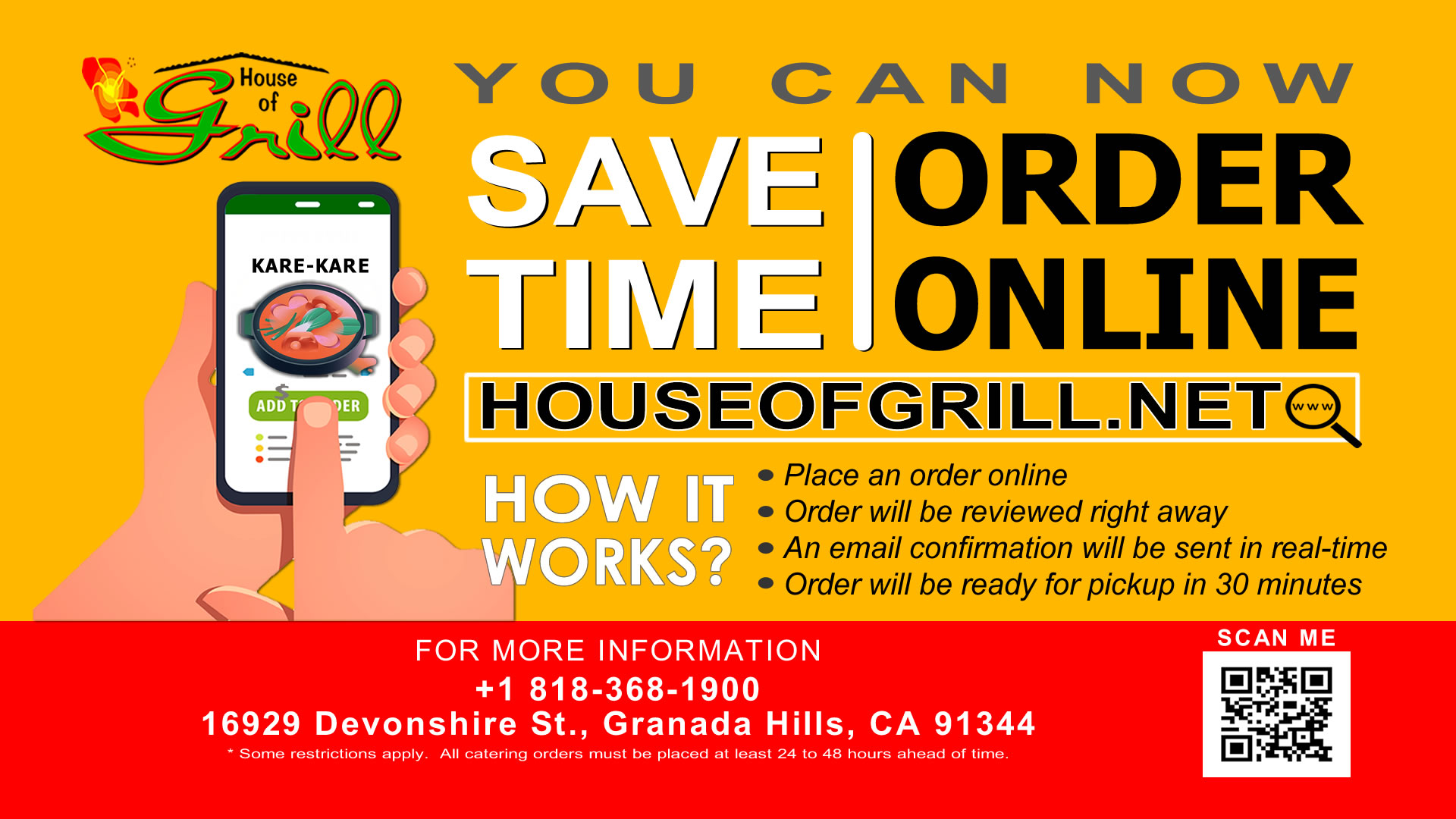 House of Grill Order Online